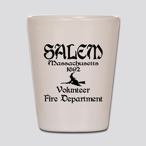 Salem Fire Department Shot Glass
